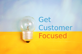 Focussed customers image